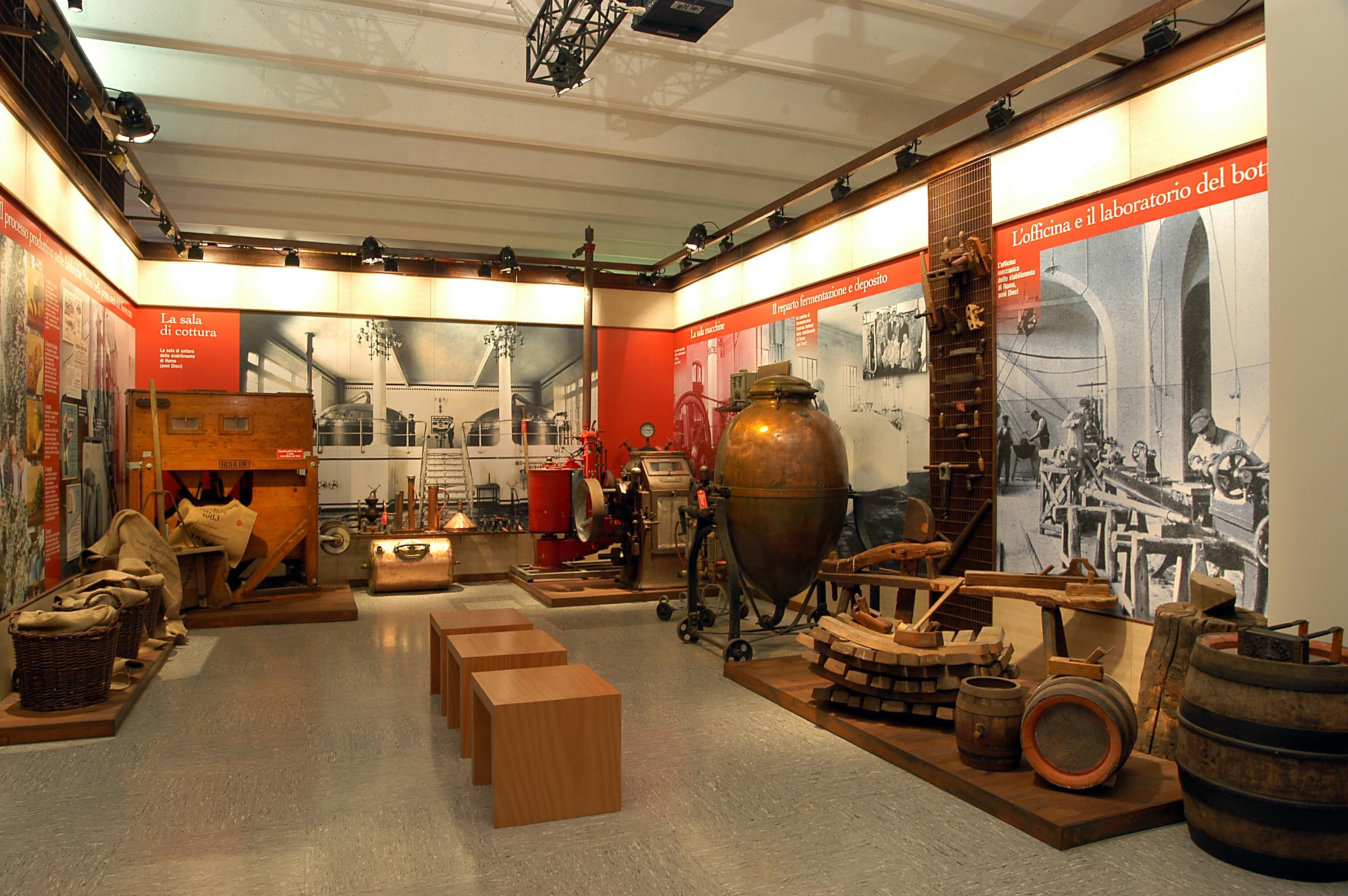 Fabbrica e archivio storico e museo birra peroni sezione 1 6 for Compro casa roma centro