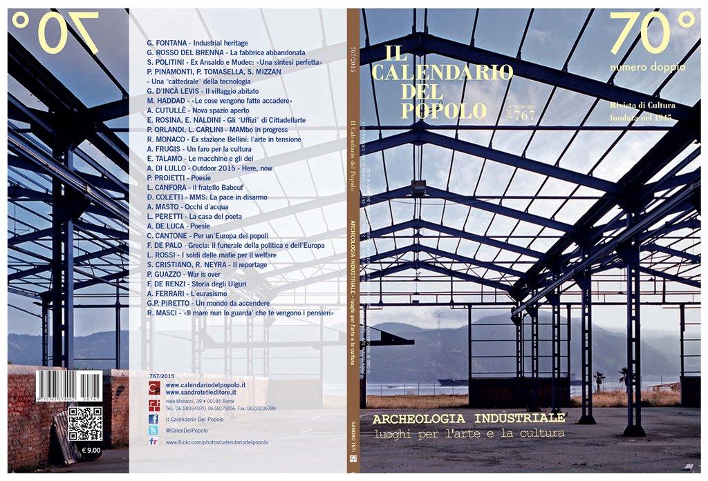 Archeologia industriale luoghi per l 39 arte e la cultura for Master architettura
