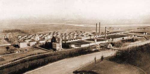 Villaggio Crespi d Adda Vista del Villaggio 1921