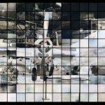 """Takashi Arai (Kawasaki, Giappone, 1978), Maquette per un monumento multiplo per B29: Bockscar, dalla serie """"Esposto in cento soli"""", 2014 ©Takashi Arai. Courtesy of Howard Greenberg Gallery, Dagherrotipi 72,7 × 219,7"""