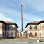 Ingresso della fabbrica di Crespi d'Adda - ph arch. Marcello Modica