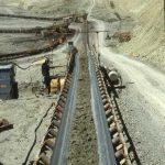 Enel miniera Santa Barbara nastro trasportatore