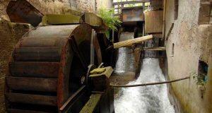 Mulini in Piemonte - Le ruote del mulino di Fenile (TO)