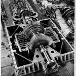 Turbine centrale Porto Genova anni '50 - Archivio Storico ENEL