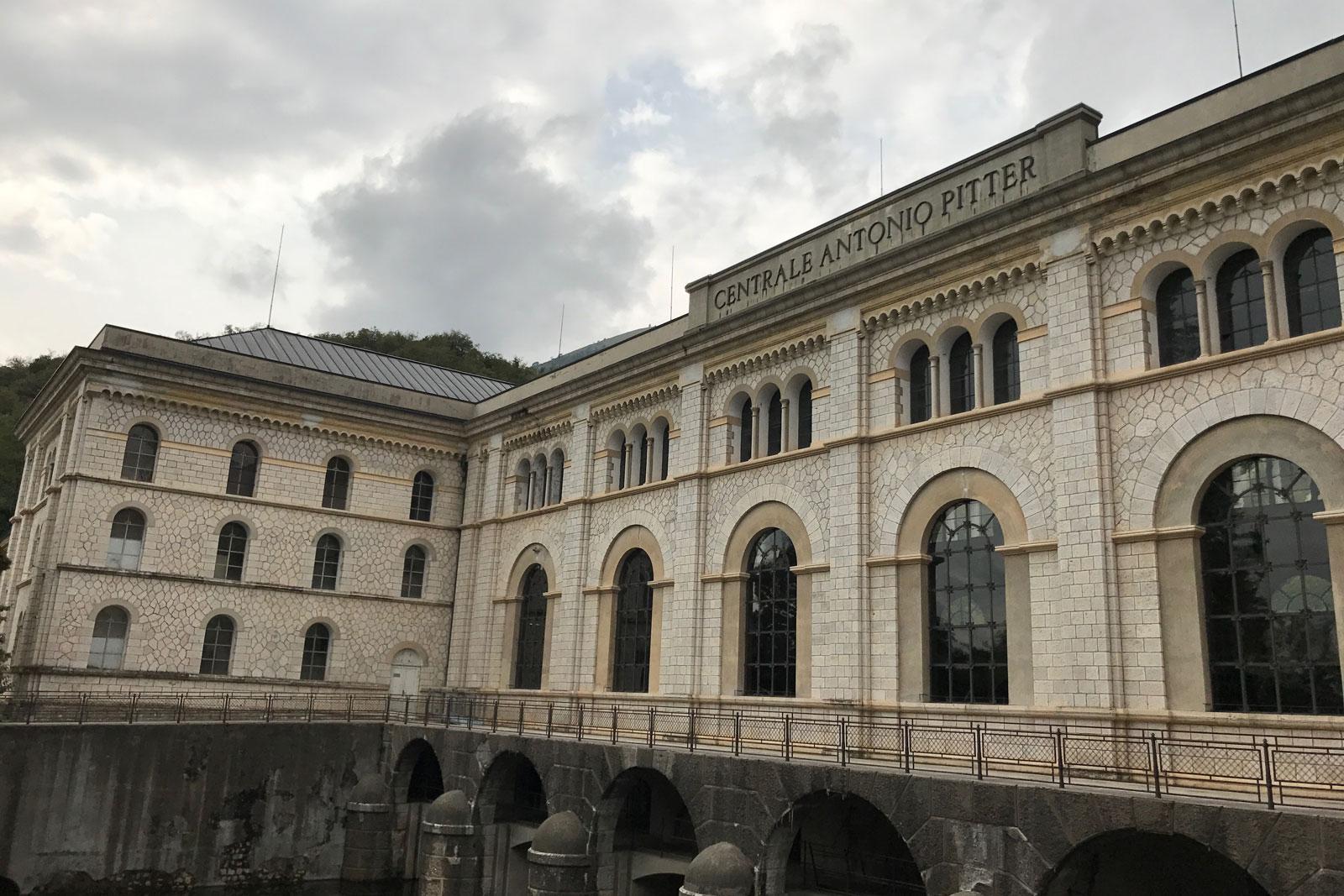 Centrale idroelettrica Antonio Pitter di Malnisio