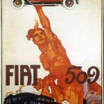 Manifesto Fiat 500 del 1925 - Lingotto VIVE & RIVIVE. Quand'era una fabbrica - la mostra di FCA Heritage